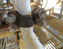 HSE Safety Alert - Catastrophic failure of pipework clamp connector